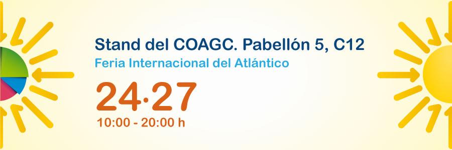 Stand del COAGC en la Feria Internacional del Atlántico