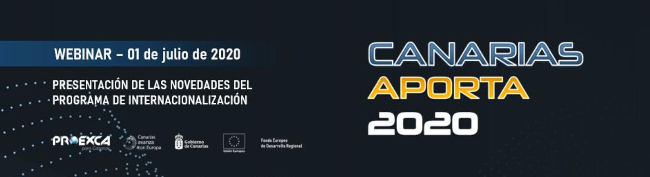 Webinar Canarias Aporta 2020
