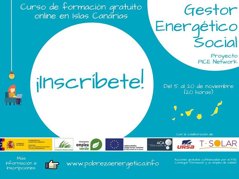 Curso 'Gestor energético social'