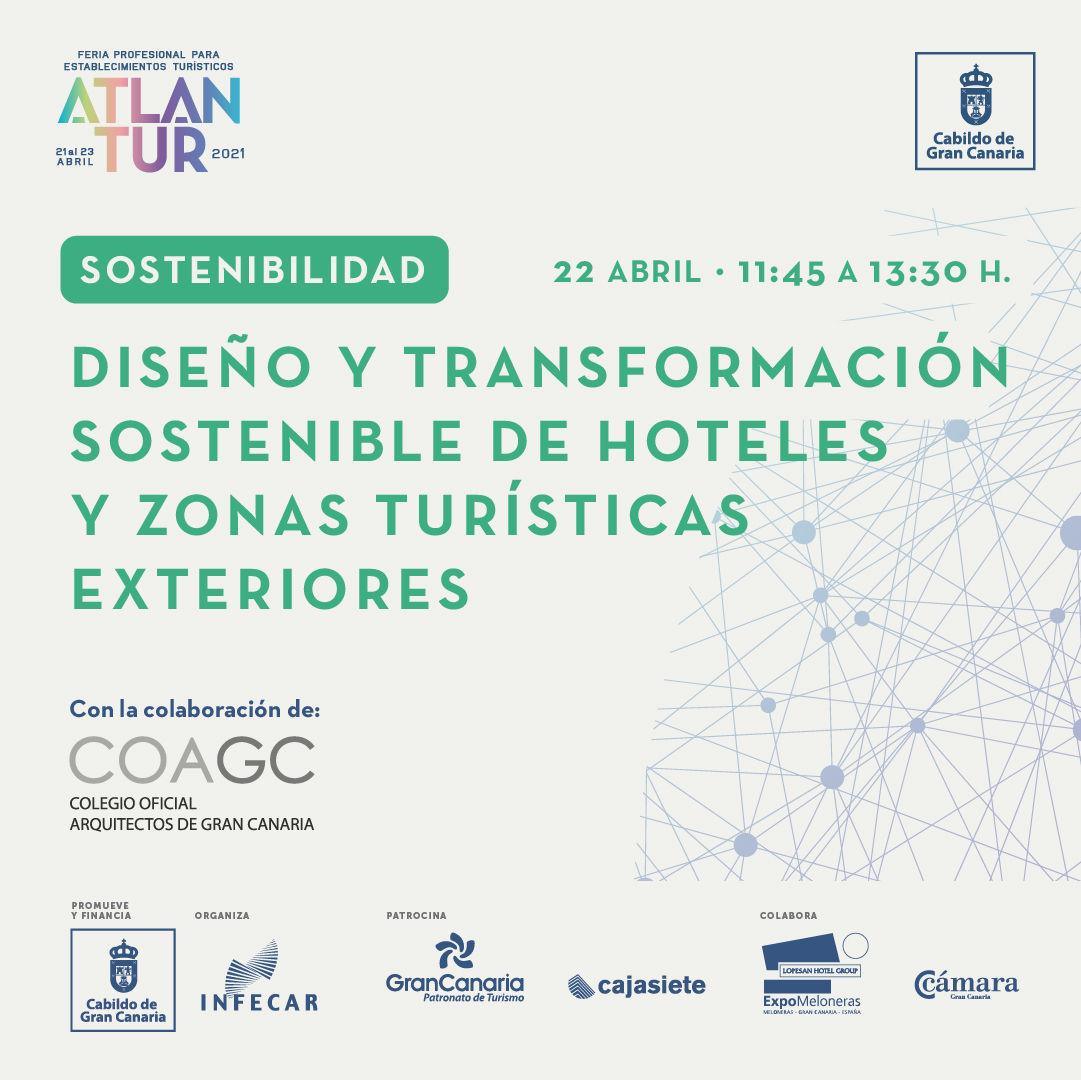 Diseño y transformación sostenible de Hoteles y zonas turísticas exteriores