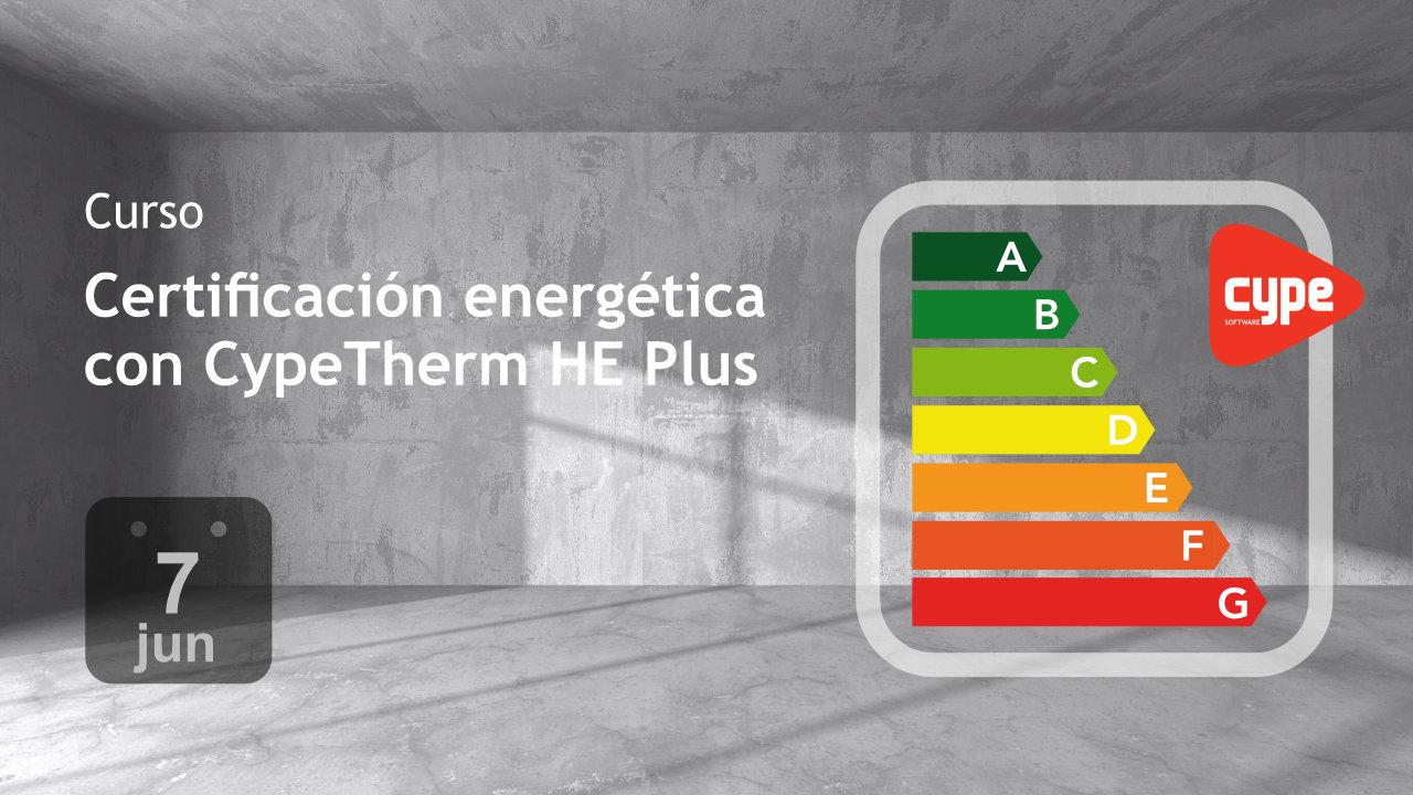 Curso 'Certificación energética de edificios con CypeTherm HE Plus'
